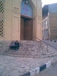 نمایی از مسجد علی(ع) قهرود
