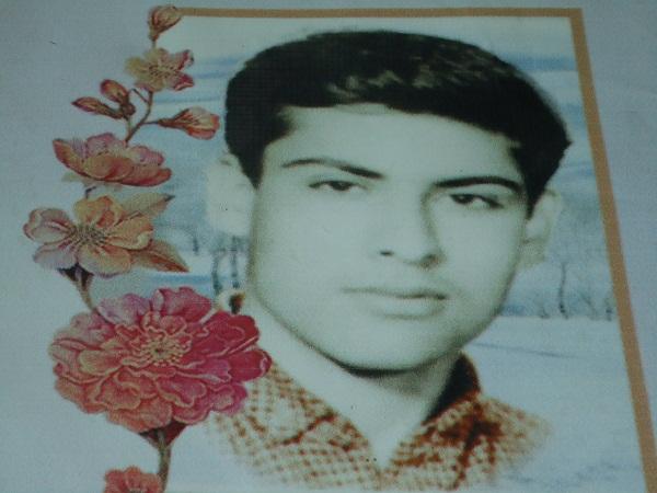 شهید حسن حبیب زاده قهرودی